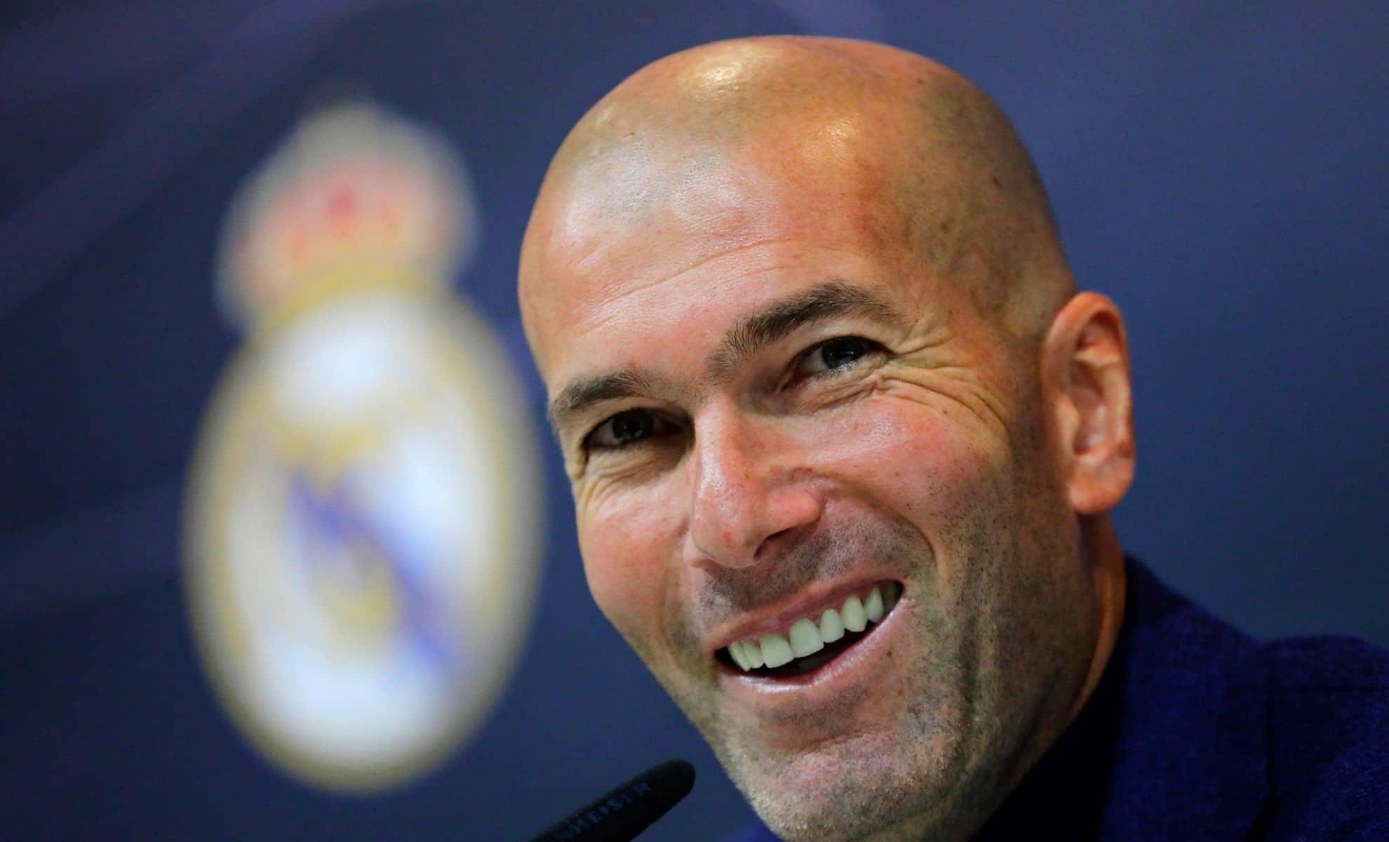 Zinedine Zidane réagit à la victoire du Real Madrid