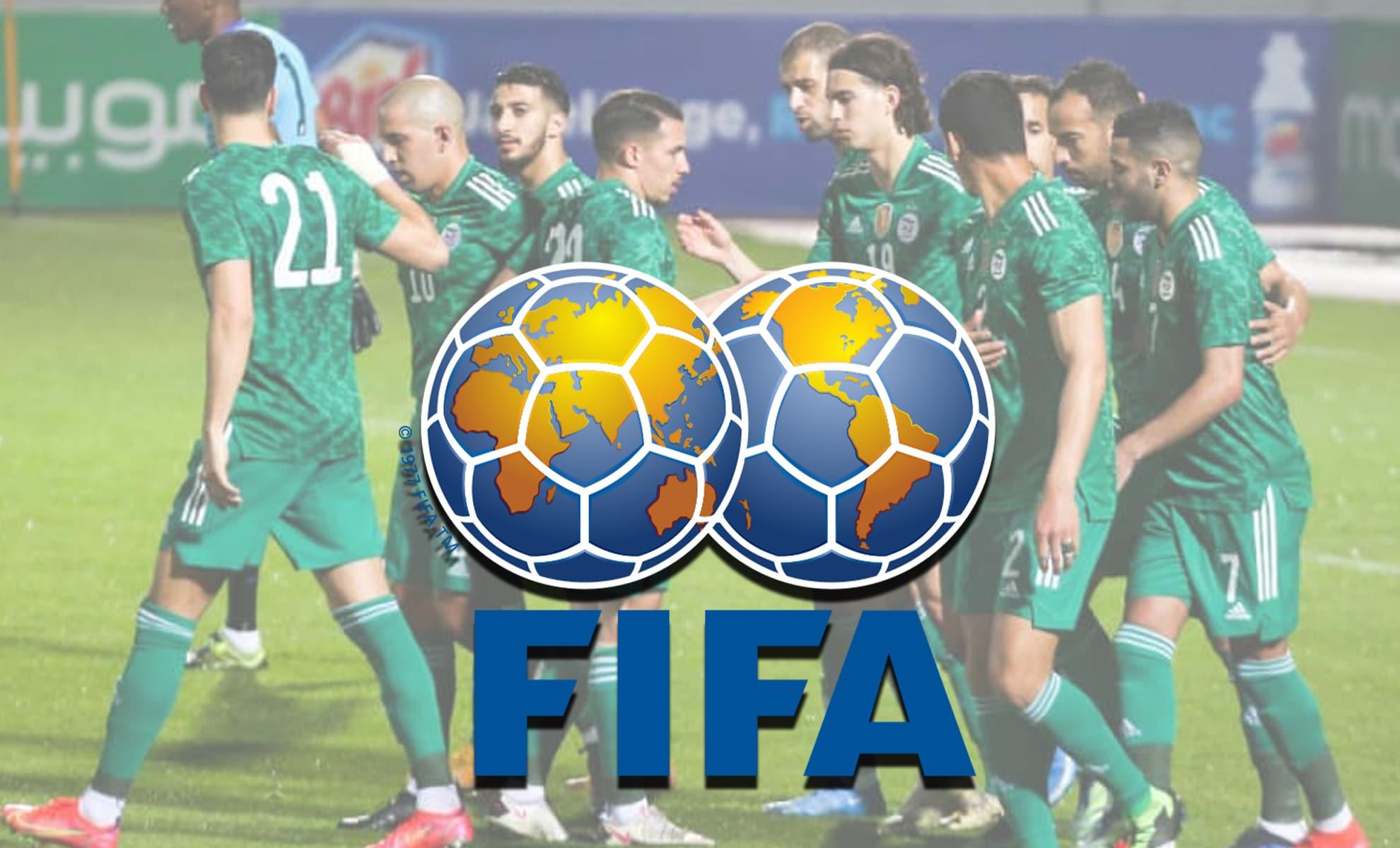 Voici la place de l'Algérie au nouveau classement FIFA